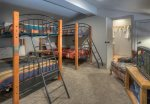 Loft Bedroom w Bunk Beds