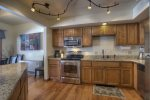 Durango Colorado vacation rental condo at Needles Townhomes near Purgatory Resort kitchen with modern appliances