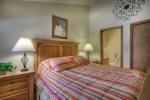 Durango Colorado vacation rental condo at Needles Townhomes near Purgatory Resort bedroom w queen bed and private bath