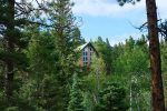 Durango Colorado vacation rental home known as Cliff View House private Rocky Mountain setting