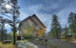 Fall color scenery at Durango Colorado vacation rental home known as Cliff View House