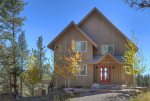 Private Fall Autumn retreat at Durango Colorado vacation rental home known as Cliff View House