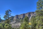 Durango Colorado vacation rental home known as Cliff View House panoramic mountain views