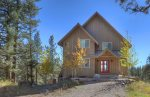 Durango Colorado vacation rental home known as Cliff View House wooded mountain top neighborhood