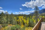 Durango Colorado vacation rental cabin Cliff View House near Purgatory Resort
