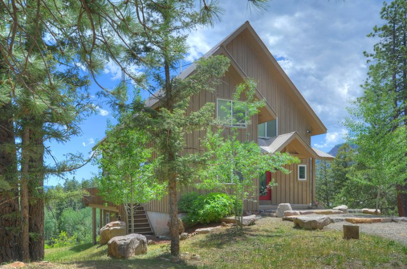 Durango, Colorado vacation rental home known as Cliff View House