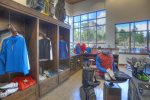 Golf pro shop at clubhouse of Tamarron Lodge vacation rental Durango Colorado