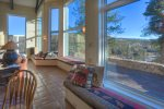 Eagles Nest vacation rental home in Durango Colorado near Purgatory Resort living room