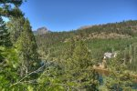 Durango Colorado vacation rental home near Purgatory Resort known as Eagles Nest summer mountain views