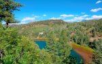 Eagles Nest vacation rental home in Durango Colorado lake view