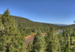 Durango Colorado vacation rental home near Purgatory Resort known as Eagles Nest panoramic lake and mountain views