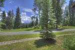Durango Colorado vacation rental home at Silverpick Condominiums mountain view from bedroom