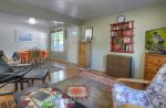 Downtown Durango Colorado vacation rental home living room