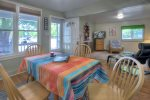 Downtown Durango Colorado vacation rental home dining room