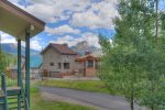 Durango Colorado vacation rental condo at Purgatory Resort mountain view from private balcony