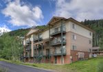 Durango Colorado vacation rental condo at Purgatory Resort front of building and free parking for rental guests
