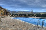 Durango Colorado vacation rental condo at Purgatory Resort hot tub deck at Durango Mountain Club