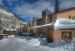 Moiuntains surrounding Durango Colorado vacation rental condo at Purgatory Resort hot tub pool gym