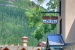 Durango Colorado vacation rental condo at Purgatory Resort hot tub spa room in same building as condo