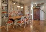 Durango Colorado vacation rental condo at Silverpick near Purgatory Resort charming decor in dining room