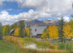 Fall color mountain views at Silverpick in Durango Colorado