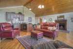 Durango Colorado in town vacation rental home O`Reilly`s Inn living room