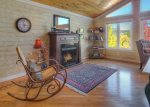 Living room in Durango Colorado vacation rental home in town known at OReilly House