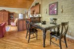 Dining room in O`Reilly House vacation rental home in Durango Colorado