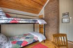 O`Reilly House vacation rental home in Durango Colorado bedroom w bunk beds