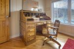 Durango Colorado vacation rental home in town known at OReilly House home office computer desk