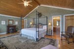 Master bedroom suite in O`Reilly`s Inn vacation rental home Durango Colorado