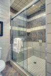 Durango Colorado vacation rental home in town known at OReilly House master bath suite