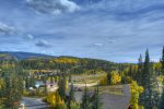 Rocky Mountain views Durango Colorado vacation rental condo ar Purgatory Resort Mountain View Luxury Condo