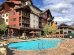 Durango Colorado vacation rental condo Purgatory Resort ski lift base area
