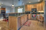 Durango Colorado vacation rental townhome between downtown and Purgatory Resort kitchen