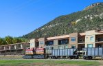 Durango Train passes through this property at vacation rental townhome