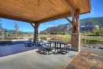 Vacation rental townhome in Durango Colorado gazebo and picnic area