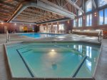 Indoor swimming pool and hot tub at Cascade Village vacation rental condo near Purgatory Resort