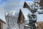 Durango Colorado vacation rental ski condo at Cascade Village near Purgatory Resort snowy winter mountain views