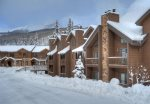 Winter snow Engineer Mounain view form Durango Colorado vacation rental condo at Cascade Village near Purgatory Resort