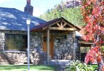 Durango Rock House vacation rental home Colorado front of home