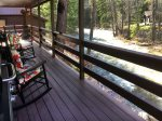 Durango Colorado riverfront vacation rental home known as Hideaway River Cabin