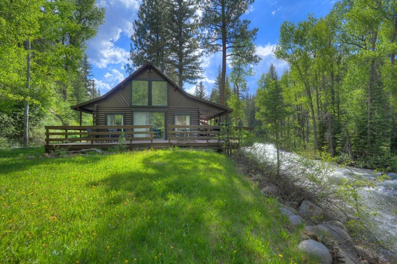Hideaway River Cabin Vacation Rental Home In Durango Colorado