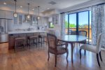 Durango Colorado vacation rental home Downtown Penthouse Condo dining room