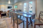 Dining room in Durango Colorado vacation rental condo at Purgatory Resort