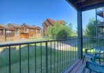Mountain view from Durango Colorado vacation rental ski condo at Purgatory Resort
