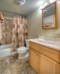 Purgatory Townhomes two bedroom vacation rental ski condo Durango Colorado full bath