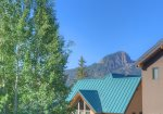 Mountain view from Purgatory Townhomes two bedroom vacation rental ski condo Durango Colorado
