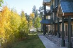Fall color at Two Bedroom ski condo vacation rental at Purgatory Resort Durango Colorado