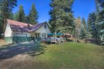 Nanas Cabin vacation rental home at Vallecito Lake near Durango Colorado